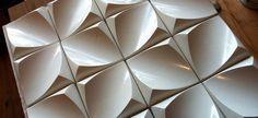 dune mini concrete - 3d wall art tile custom