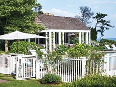 Jerry and Jessica Seinfeld's Hamptons House InStyle 3 Hooked on Houses