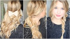 [ Tutoriel Coiffure n° 32 ] : 3 coiffures pour cheveux bouclés ! Fashion Beauty, Lily, Hairstyle, Long Hair Styles, Inspiration, Blog, Star, Amazing, Hairdos
