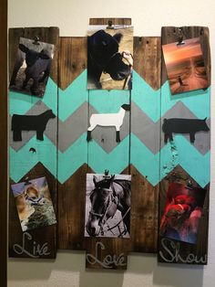 Photo board, Picture Board, Photo memory board, Memory board, Wooden decor, Picture collage, picture frame, reclaimed wood, Wood decoration by CraftedSimplyInc on Etsy