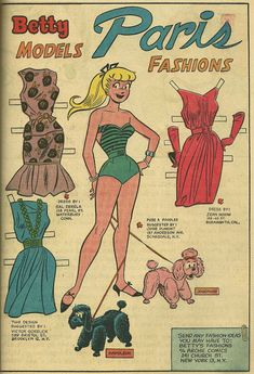 From Archie Giant Series #13 (Betty and Veronica Summer Fun), Oct. 1961.
