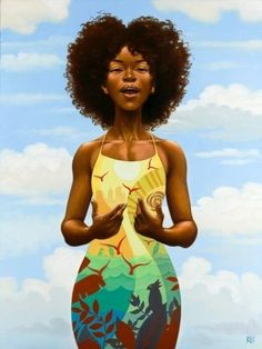 Be Heard by Kadir Nelson. I saw this in a magazine a few years ago. I hung it in my room and it's still continues to encourage me.
