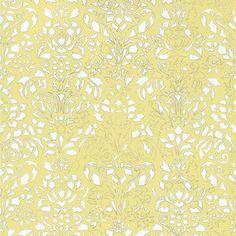 Comblé Wallpaper Roll Yellow   by Tres Tintas Barcelona
