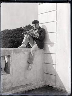 Self-portrait, 1928 by Man Ray
