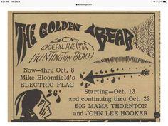 Mike Bloomfield, John Lee Hooker, Golden Bear