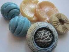Vintage Buttons  Cottage chic mix of grey blue by pillowtalkswf, $6.95