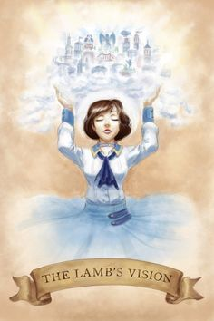 BioShock Infinite 'The Lamb's Vision' by sapphire-feather(deviantart)