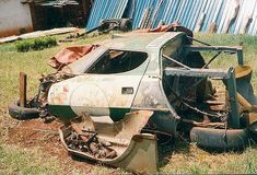 Lancia Startos An Unfortunate Collection of Abandoned Race Cars — 95 Customs