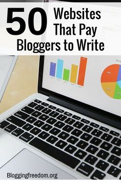 Start your freelance writing career today! Check out my list of 50 sites that pay bloggers to write.