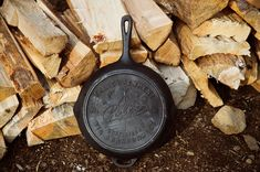 Poler Cast Iron Skillet from Adventure 89 #adventure89 #poler #polerstuff #campvibes