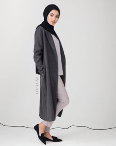 Modest Fashion for Modern Women by Inayah Casual Hijab Outfit, Hijab Chic, Casual Outfits, Modest Wear, Modest Outfits, Modest Clothing, Muslim Fashion, Modest Fashion, Fashion Outfits