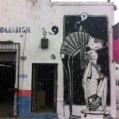 The street artist Alex Senna invades Miami