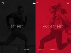 Nike Dark shot for dark players.