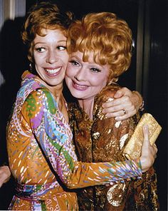 Lucy and Carol Burnett by Lucy_Fan, via Flickr