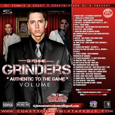 I am introducing MARK MIRAGE on this one with a host of authentic drivers at the wheel of the HIP HOP GAME the Grinder what is a grinder someone who is timely, will be around and works hard for the money in the game raw, blistering, smooth classic hip hop from the best in the game. COVER COMIING!Sean Garrett, Lil Wayne, Drake. Treal Lee