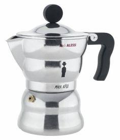 Trouva: Alessi Espresso Coffee Maker In Aluminium Casting 6 Cup
