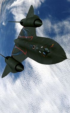 SR-71 Blackbird. Got to see one of these land at Patrick AFB, FL