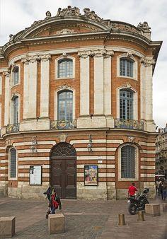 Capitole Entrée du théatre - Toulouse