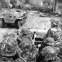 Waffen SS in Normandy 1944, pin by Paolo Marzioli