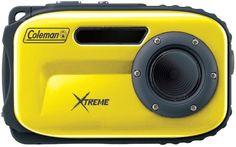 Coleman - 12.0 Megapixel Xtreme Underwater Digital Camera (Yellow)