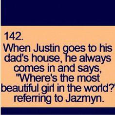 Jazymn=Jazzy Jaxon=Jax He would be the perfect dad!!