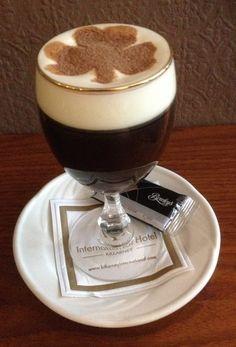 Only Irish Coffee provides all main essential food groups: alcohol, caffeine, sugar, & fat. LOL
