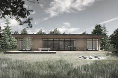 BAKS ARKITEKTER - sommerhus i Tisvildeleje, Danmark.   Nordic architecture, summerhouse, design