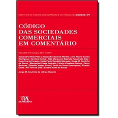 Código das sociedades comerciais em comentário / Alexandre Mota Pinto ... [et al.] ; Jorge M. Coutinho de Abreu (coord.) 2010-