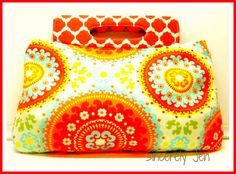 Swoon over this Coraline Clutch Sewing Pattern