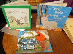 Abby the Librarian: Preschool Lab: Animals in Winter