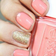 Plush pink & sparkly gold
