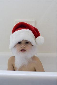 Bearded santa baby....<3