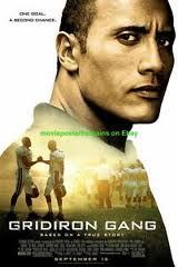 Gridiron Gang on Blu-ray from Mill Creek Entertainment. Directed by Phil Joanou. Staring Dwayne Johnson (AKA The Rock), Brandon Smith, Leon Rippy and Jade Yorker. More Drama, Based-On-A-True-Story and Sports DVDs available @ DVD Empire. The Rock Dwayne Johnson, Dwayne Johnson Filme, Dwayne Johnson Movies, Rock Johnson, Best Football Movies, Love Movie, Movie Tv, Avengers Film, Equipement Football