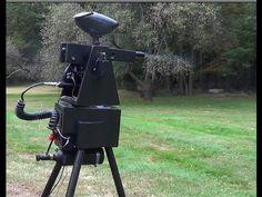 Gladiator II Paintball Sentry Gun - Open-Source Sentry gun