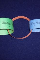 Amistad Friendship Chain  This is a great way to teach students what friendship really means. Also, a great Black History Month lesson!