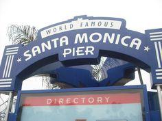 Santa Monica Pier  #LA