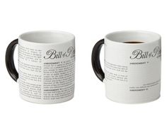 DISAPPEARING CIVIL LIBERTIES MUG | Bill Of Rights, Constitution, Politics | UncommonGoods