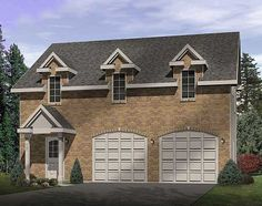 The Madelon Garage Apartment plan. See details for Plan Best House Plans, Dream House Plans, Small House Plans, House Floor Plans, Garage Apartment Floor Plans, Garage Apartments, Colonial House Plans, Southern House Plans, Garage With Living Quarters