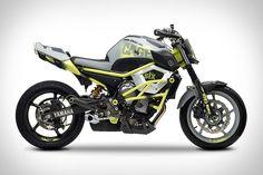 Yamaha Moto Cage-Six Concept Motorcycle