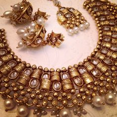 #banglezjewelry #gorgeous #accessories #jhumka #bridal #iheartjewelry #polki #kundan #gold #wedding #2014 #necklace #earrings #tikka #banglez #Indian #bridaljewelry #southasian #costumejewelry #indianjewelry #pakastanijewelry #weddingjewelry #partyjewelry