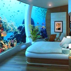 Under the sea master bed room...would be his dream bed room lol but, not gonna happen ;)