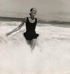 Summer + freedom. model Veruschka: by Franco Rubartelli