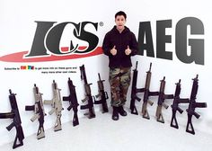 RedWolf: ICS AEGs Available Now