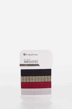 The 4- Pack cintas de pelo en Metallic Multi - Ropa deportiva Fabletics