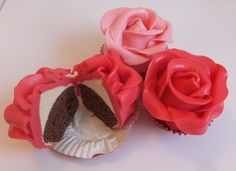 Rose Cupcakes Tutorial on Cake Central