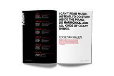 ROCK MAGAZINE – VAN HALEN Editorial design for the October 2017 edition of Rock Magazine, a monthly publication sponsored by Rock Radio. Rock Radio, Eddie Van Halen, Editorial Design, Stuff To Do, October, Magazine, Reading, Magazines, Reading Books