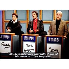Jeopardy! is an American television quiz show created by Merv Griffin in 1964. Like most programs of its genre, it features trivia in a wide variety of topics, including history, literature, the arts, pop culture, science, sports, geography, and wordplay; however, unlike them, it has a unique answer-and-question format in which contestants are presented with clues in the form of answers, and must phrase their responses in question form.