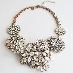 trendy fashion jewelry Clear color bubble bib by andywushop, $29.99