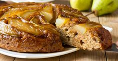 Ginger Pear Upside-Down Cake