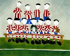 Mackenzie Thorpe game of life Kerry Darlington, Popular Artists, Football Art, Our Legacy, The A Team, Limited Edition Prints, Contemporary Artists, New Art, Painting & Drawing